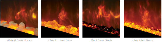 Gazco Radiance Fuel Bed Options