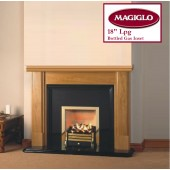 "18"" Coal Effect Natural Gas Fire, manual control MagiGlo Premos NG"