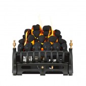 Reality 16 gas fire with black fret