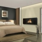 Electric Celsi Fire 1080 Panoramic Electric Video Flame Effect Fire Hang-on-the-wall Electric Fire. 400H*1080L*105D mm