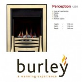 Flueless Gas Fire Burley Perception 4260b,4264BK,4267S, Inset Flueless Gas Fire