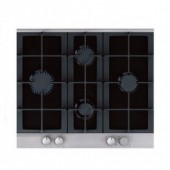 Cata GHDFF60ALGG Black Glass Gas Hob