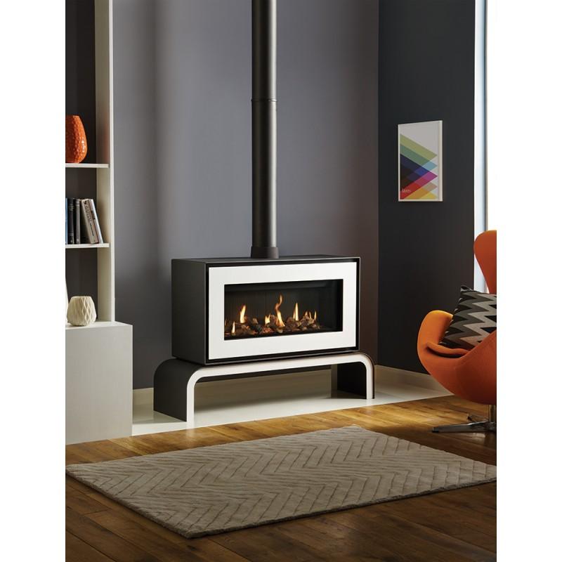 Gas Stove Gazco Studio 2 Freestanding High Efficiency 78