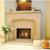 Gas Fire Gazco Riva2 500 Edge High Efficiency (75%) Glass Fronted Chimney Gas Fire. GRV2500cf