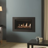 Gas Fire Gazco Studio 1 Expressions Conventional Flue, High Efficiency (72%) 4.97kw Glass Fronted Chimney Gas Fire. GS1cf