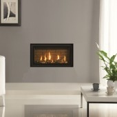 Gas Fire Gazco Studio 1 Slimline Edge High Efficiency 82% 4.25kw Balanced Flue Gas Fire. GS1slim