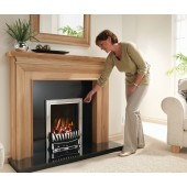 Excelsior Palmerstown Gas Fire High Efficiency Open Fronted Radiant Box Inset Gas Fire . Ekofire 130303015