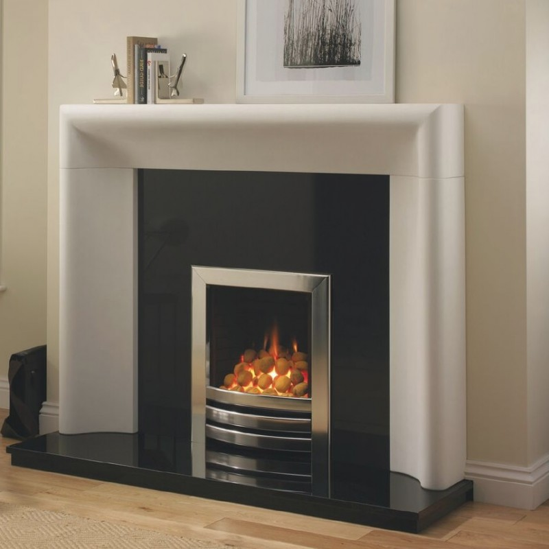 Stilorgan Gas Fire High Efficiency Open Fronted Radiant Inset Log Or Coal Effect