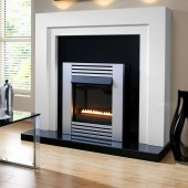 Centurion Flueless Gas Fire Focal Point Gas Fire Range ,Linear Flame Gas Fire, Ekofire 1550
