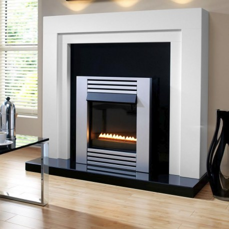 Flueless Gas Fire TGC15530 Flueless Inset Contemporary Linear Flame Gas Fire