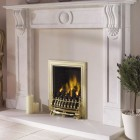 Gas Fire Fan Assisted, Whirlwind High Efficiency Open Fronted Power Flue Inset Gas Fire. Ekofire TGC13031 (PF)