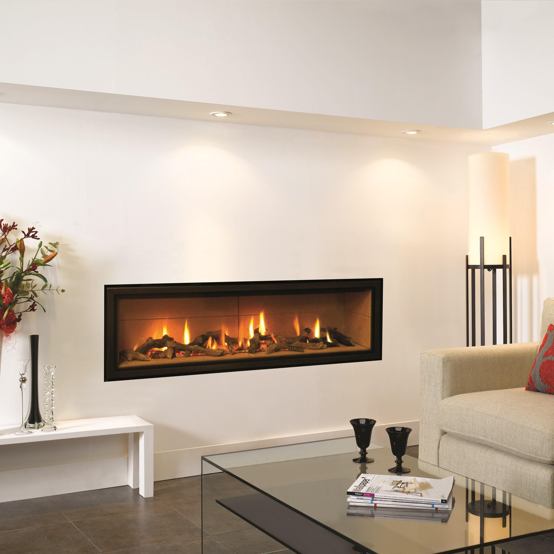 gas fire gazco studio 3 edge glass fronted balance flue
