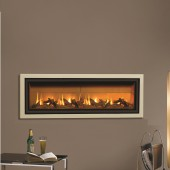 Gazco Studio 3 Balanced Flue Gas Fire with Profil Frame