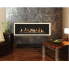 Gas Fire Gazco Studio 3 Profil, Balanced Flue Gas Fire. GS3bf