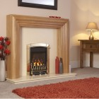 Flavel Caress Plus Traditional HE 68.3% High Efficency Open Fronted Brass