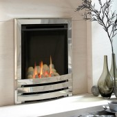Flavel Windsor HE Contemporary Coal Effect HE High Efficiency 89% Glass Fronted Gas Fire