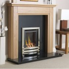 Gas Fire Flavel Linear HE High Efficiency 84.3% Gas Fire Glass Fronted Fire
