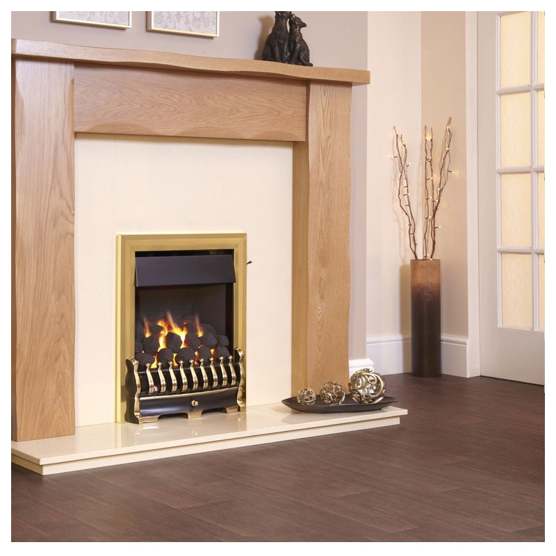Gas Fire Flavel Richmond Plus He 66 7 High Efficiency Open Fronted