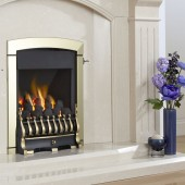 Gas Fire Flavel Calypso Plus HE 68.3% High Efficency Open Fronted Gas Fire