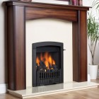 Flavel Rhapsody Plus Slide Control Open Fronted Living Flame Effect - Full Depth Inset Convector