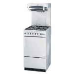 Eye level grill gas cooker