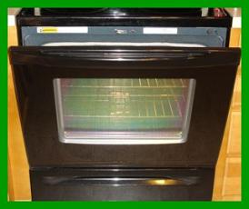What are exterior glass on oven doors ?