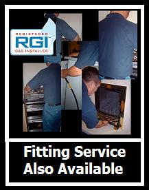 Fitting Service Available on appliances sold
