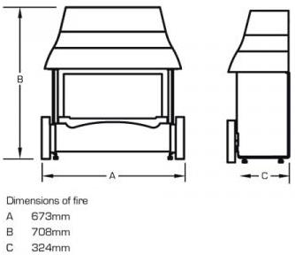 Emberglow Technical Drawing