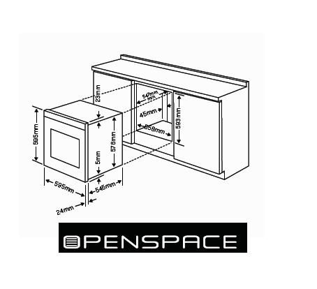 Standard Oven Size Index Of 24files Images Content Hotpoint2008integratedtechnical