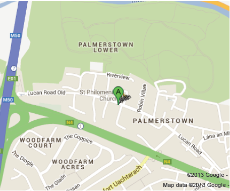 Map To Palmerstown Showroom