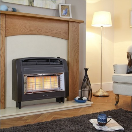 Flavel Strata Radiant Outset Gas Fire High Efficiency Outset Radiant Fire