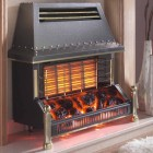 Gas Fire Flavel Welcome Outset Radiant Gas Fire with Electric Effect