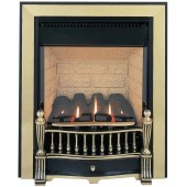 Flueless Gas Fire Burley Environ Inset Flueless Gas Fire