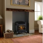 Flueless Gas Stove Burley Ambience 4121 Log Effect Gas Stove