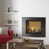 Gas Fire Gazco Riva2 750 Verve XS High Efficiency (82%) Conventional Flue Gas Fire. GRV2750cf