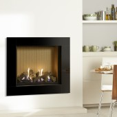 Gas Fire Gazco Riva2 750 Icon XS Conventional Flue Gas Fire. High Efficiency (82%) GRV2750cf