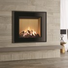 Gas Fire Gazco Reflex 75T Evoke Glass, High Efficiency (75%) Conventional Flue Gas Fire.