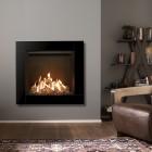 Gazco Reflex 75T CF Gas Fire with Icon XS Glass Frame