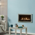 Gas Fire Gazco Studio 1 Slimline Profil, High Efficiency (82%) Balanced Flue Gas Fire.GS1slim