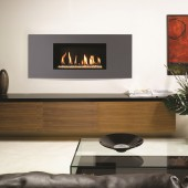 Gazco Studio 1 Slimline Balanced Flue Gas Fire with Verve Frame