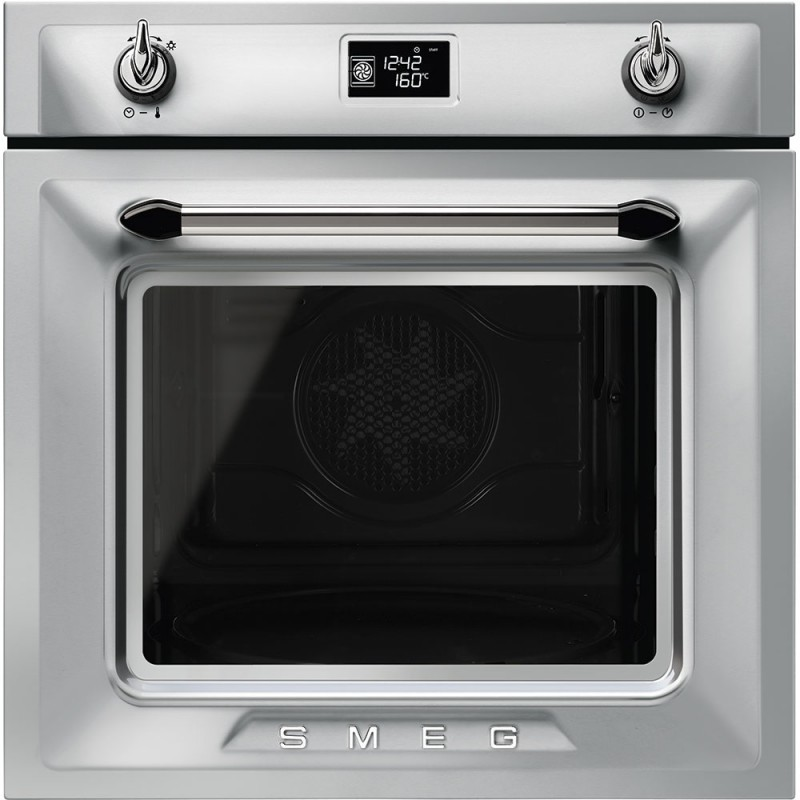 Smeg retro victoria traditional pyrolytic multifunction oven with soft close door pizza - Smeg vintage ...