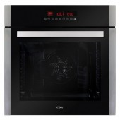 CDA SK410SS Ten Function Large Capacity Single Electric Oven in Stainless Steel