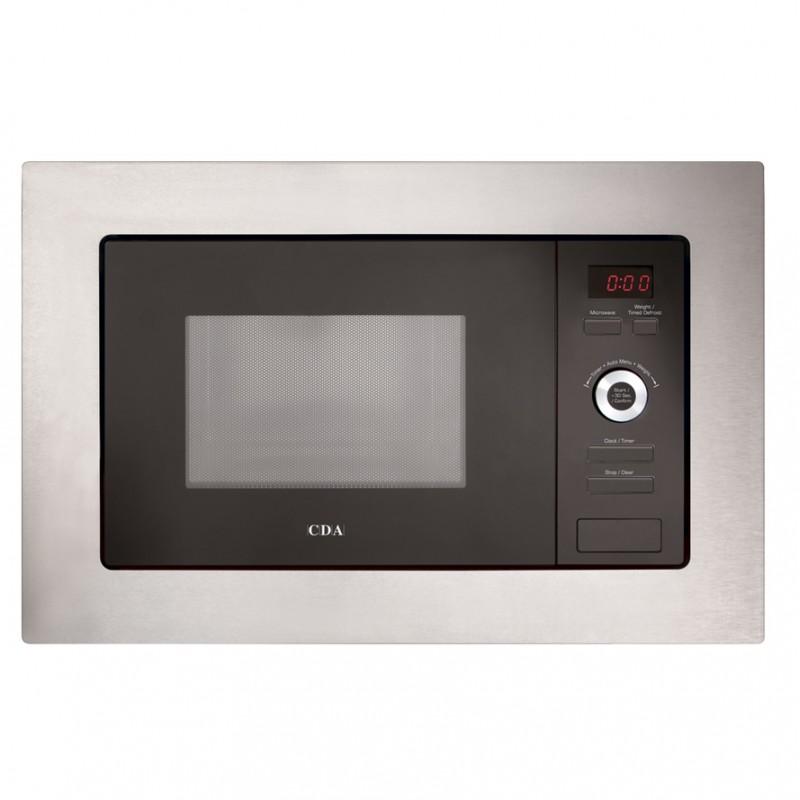 Microwave Oven Unit: TGCCDA VM550SS Microwave Wall Unit Slimline Built-in