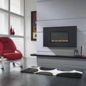 Flueless Gas Fire TGC15070 Wall Mounted Flueless Gas Fire
