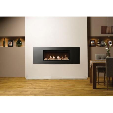 Gas Fire Gazco Studio 2 Verve, High Efficiency (81%) Balanced Flue Gas Fire.