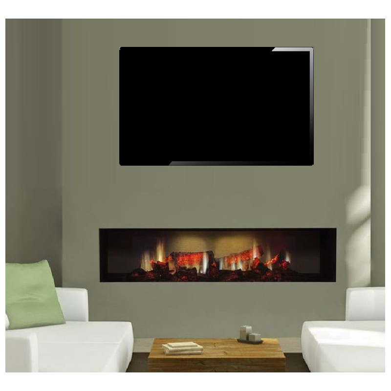 Electric Fire Dimplex Opti V Oasis Pgf 20 Fully Recessed Inset Hole