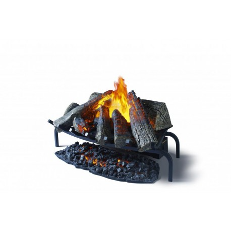 Dimplex Electric Opti-myst Basket Fire - The Dimplex Silverton with special effect lighting.
