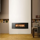 Gazco Studio 2 Verve Conventional Flue , High Efficiency 81% 6.9 kw Chimney Gas Fire .GS2cf