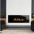 Gazco Studio 2 Glass Conventional Flue , High Efficiency (81%) Chimney Gas Fire .GS2cf