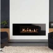 Gazco Studio 2 Bauhaus Conventional Flue , High Efficiency (81%) Gas Fire .GS2CF
